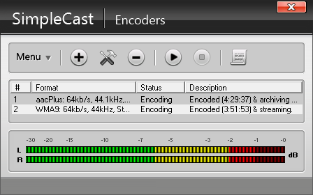 Encoders Window