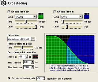 Crossfading Window as seen in SAM Broadcaster